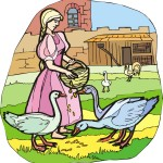 The Goose-Girl Story